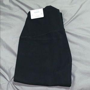 NWT Aerie leggings Hi rise short medium black
